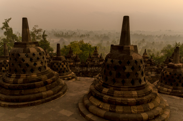 Borobudur, Jawa Tengah, Indonesia